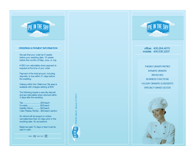 Pie In The Sky Brochure